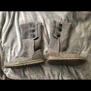 Grey Knit UGG